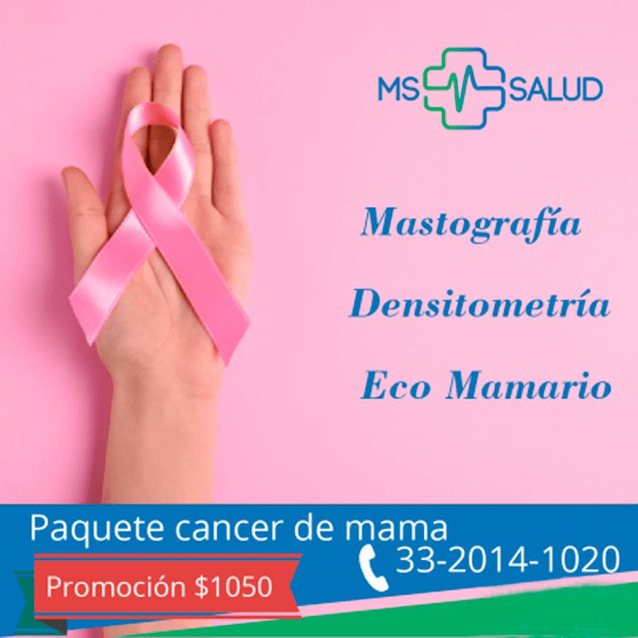 promocion paquete cancer mamas