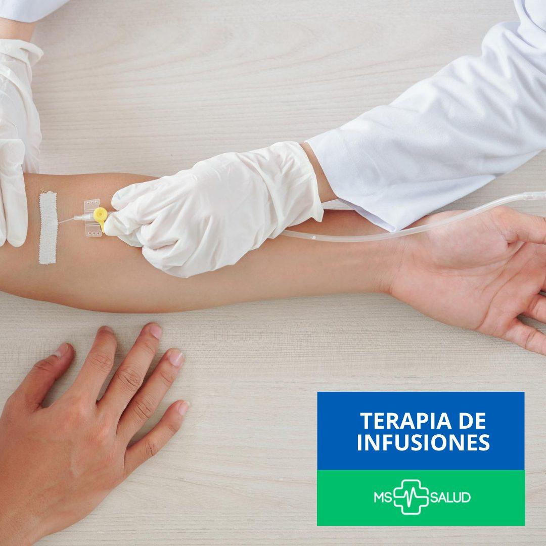 ms mas salud clinica del dolor terapia de infusiones